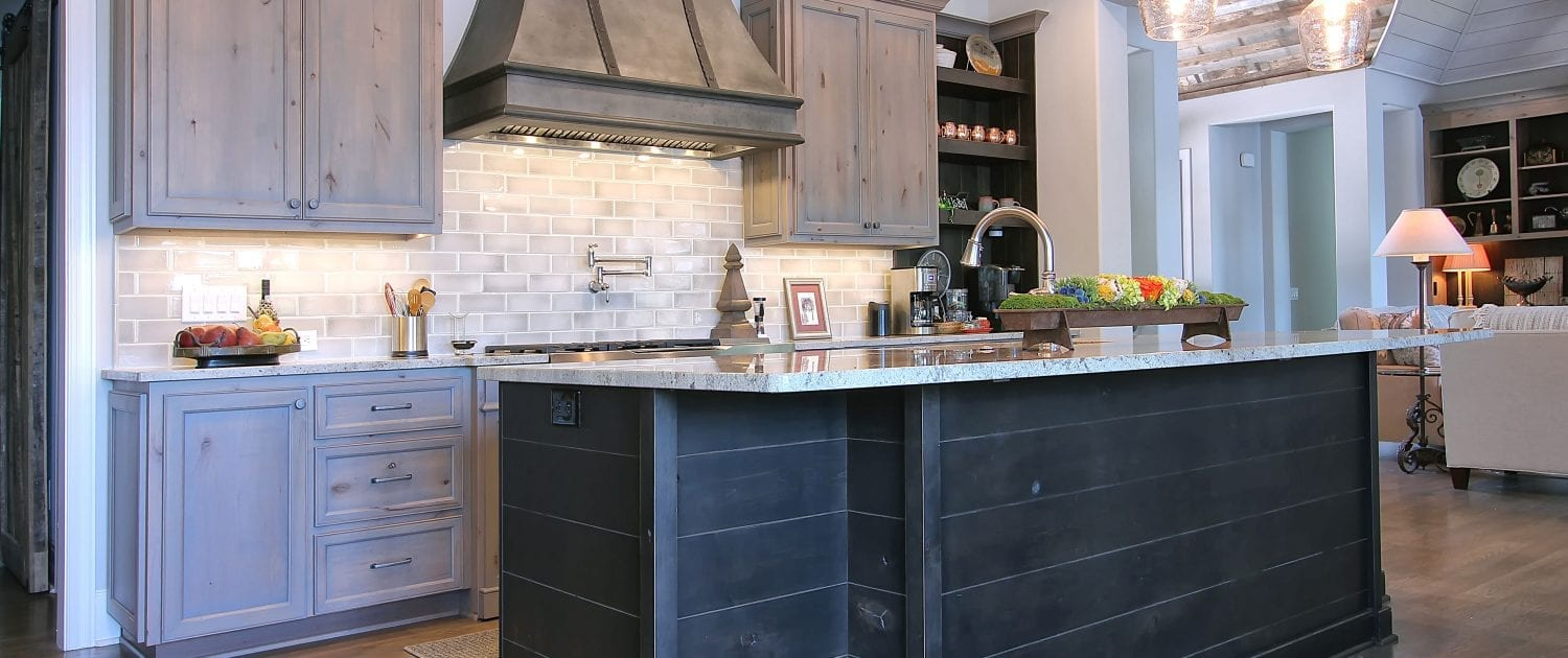 Rustic Alder With Transitional ...