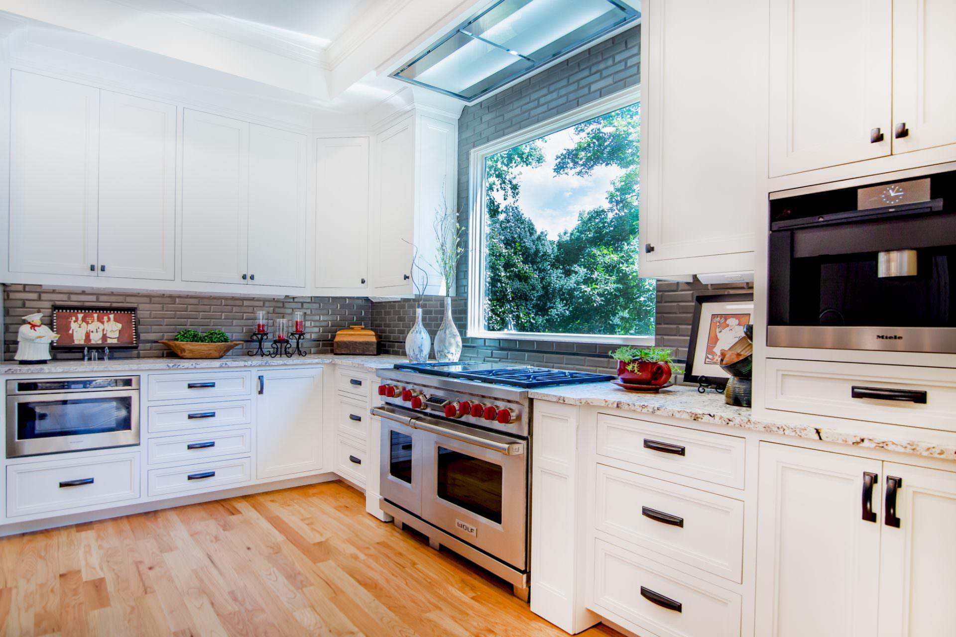 Kitchen Remodel gets Inset Cabinetry | Greenbrook Design Center