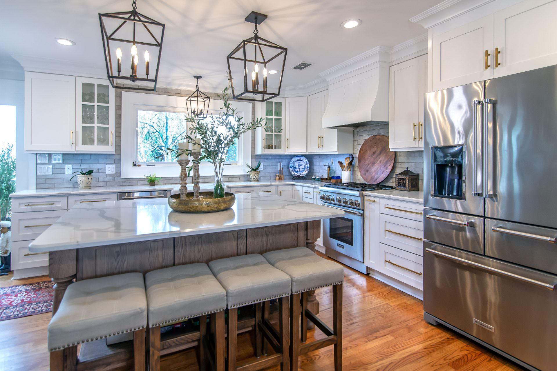 Wellborn Cabinet Kitchen Breakfast Bar Kitchen Backsplash